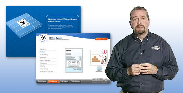Comprehensive manufacturing software with E2 Software