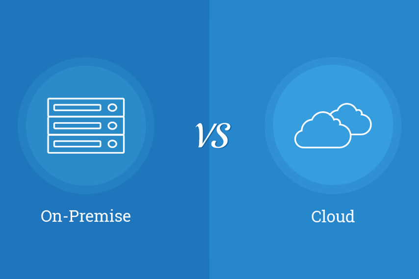 On-Premise vs. Cloud-Based ERP System