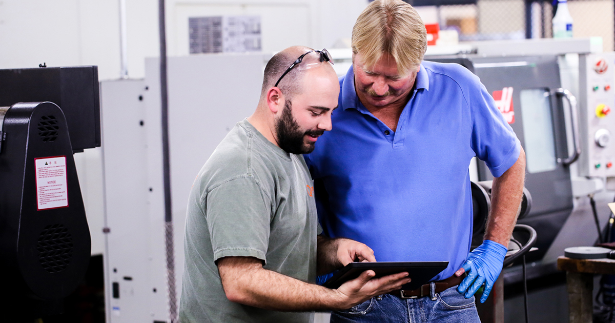 best practices of managing a machine shop