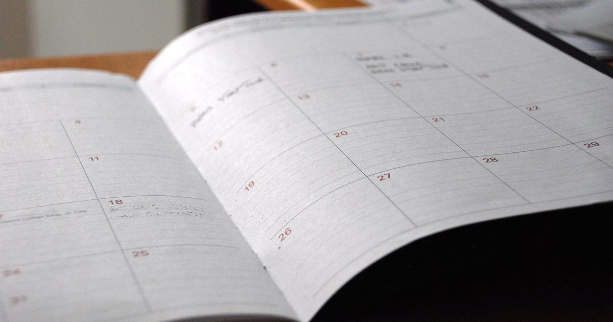 manufacturing calendar
